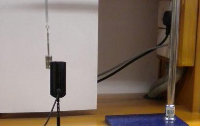 6. Setup for observing free oscillations