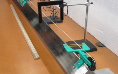 Experiments with a linear air track
